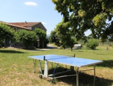 Table de ping-pong des gîtes